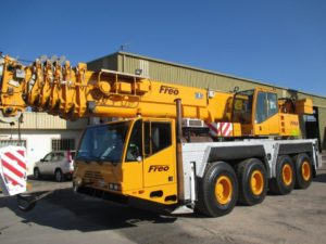One of our mobile cranes for sale