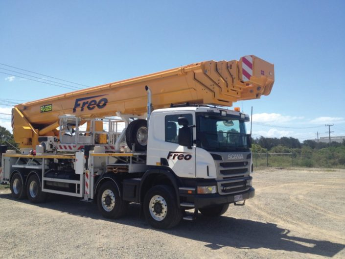 One of Freo Groups travel towers for hire